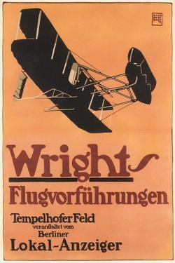 Poster for German Air Show