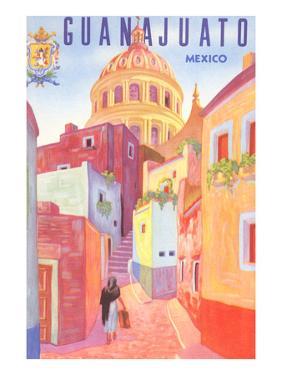 Poster for Guanajuato, Mexico, Colonial Streets