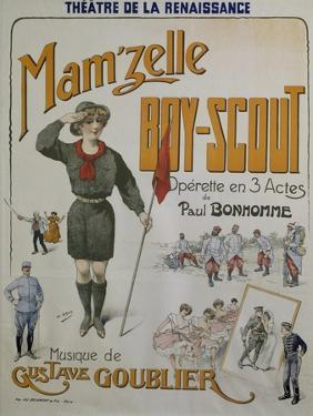 Poster for Mamzelle Boy Scout