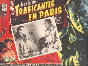 Poster for Mexican Film Noir Movie