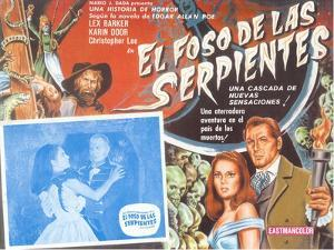 Poster for Mexican Version of Movie, Snake Pit