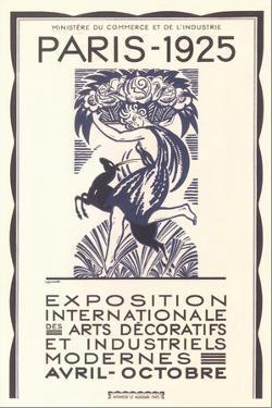 Poster for Paris Industrial Arts Show