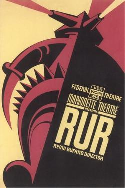Poster for Play, RUR