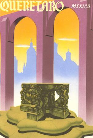 Poster for Queretaro, Mexico