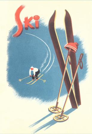 Poster for Skiing