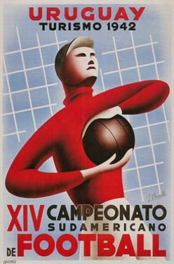 Poster for South American Soccer Tournament