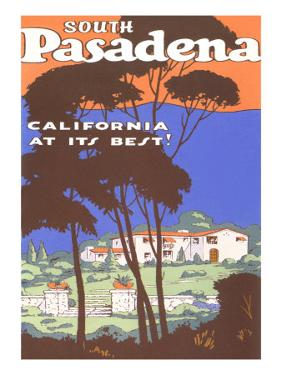 Poster for South Pasadena, California