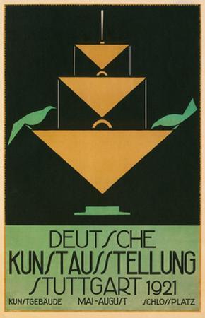 Poster for Stuttgart Art Exhibition