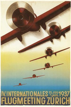 Poster for Swiss Air Show