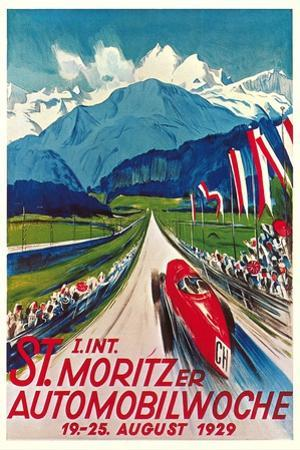 Poster for Swiss Auto Race