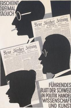 Poster for Swiss Newspaper