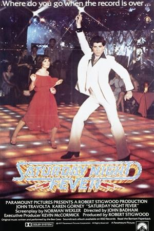 Poster for the Film 'Saturday Night Fever', 1977