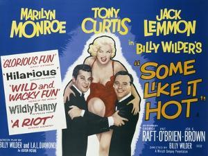 Poster for the Film 'Some Like it Hot', 1959