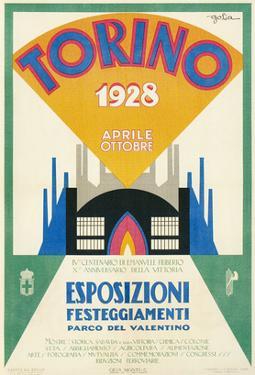 Poster for Torina Fair, 1928