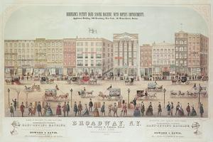 Poster of a View of Broadway