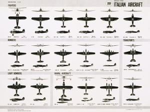Poster of Italian Combat and Transport Aircraft