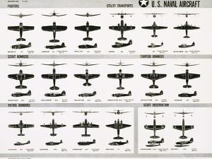 Poster of U.S. Naval Combat and Transport Aircraft