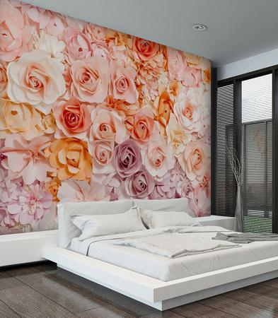 Posy Wall Mural Part 93