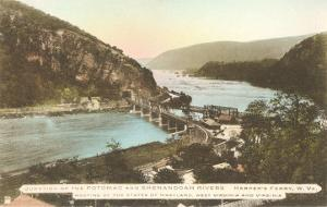Potomac and Shenandoah Rivers, Harper's Ferry, West Virginia