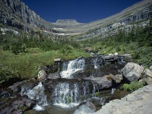 Mountain Stream Beside Going to the Sun Road, Near Logan Pass, Glacier National Park, Montana, USA by Pottage Julian