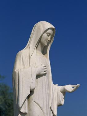 Statue of Our Lady Near St. James, Medjugorje, Bosnia Herzegovina, Europe by Pottage Julian