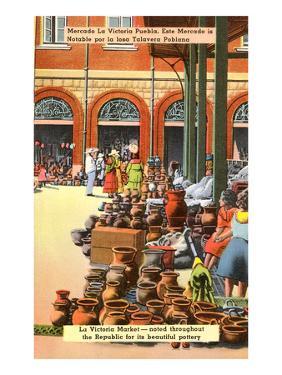 Pottery Market, Puebla, Mexico