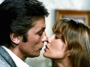 Pour la peau d'un flic by Alain Delon with Alain Delon and Anne Parillaud, 1981 (photo)
