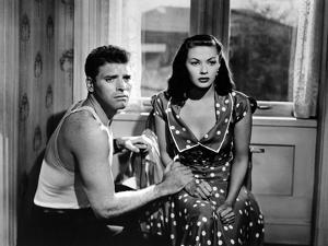 Pour Toi j'ai Tue CRISS CROSS by RobertSiodmak with Burt Lancaster and Yvonne by Carlo, 1949 (b/w p