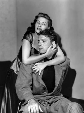 Pour Toi j'ai Tue CRISS CROSS by RobertSiodmak with Yvonne by Carlo and Burt Lancaster, 1949 (b/w p