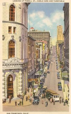 Powell Street, Cable Cars, San Francisco, California