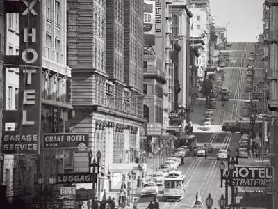 Powell Street in San Francisco, c.1950