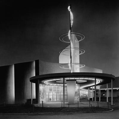 Power Distribution Building at the 1939 World's Fair