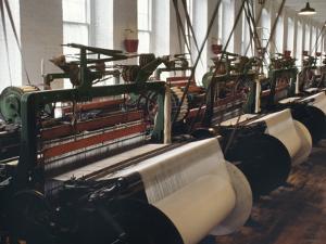 Power Looms Inside the Boott Cotton Mills, Lowell National Historical Park, Massachusetts