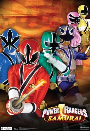 Power Rangers Samurai Group Television Poster