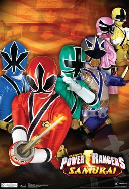 Power Rangers Samurai Group Television Poster