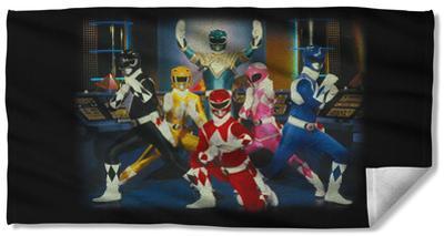 Power Rangers - Stance Beach Towel