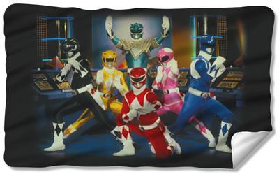 Power Rangers - Stance Fleece Blanket