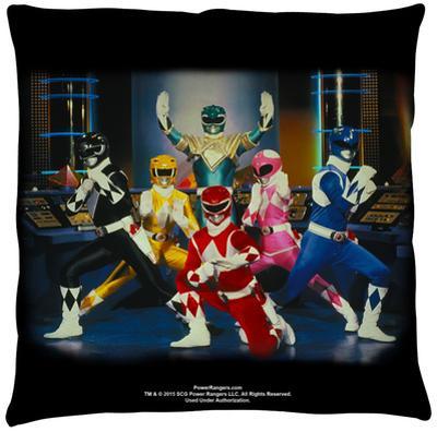 Power Rangers - Stance Throw Pillow