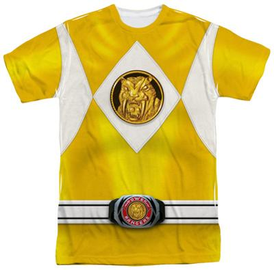 Power Rangers - Yellow Ranger Emblem