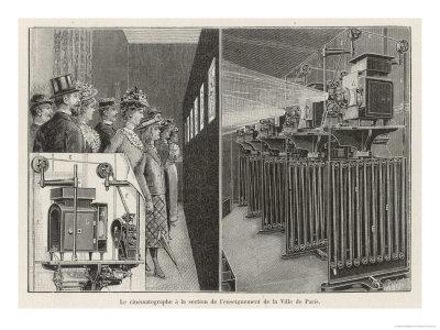 The Gaumont-Demery Exhibit Impresses Visitors to the 1900 Paris Exposition