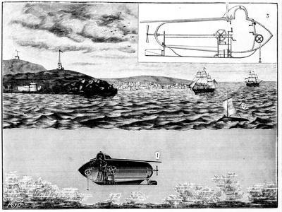 The Submarine Nautilus, 1901