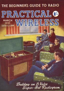 Practical Wireless, Radios Listening To Music DIY Hi-Fi Magazine, UK, 1950