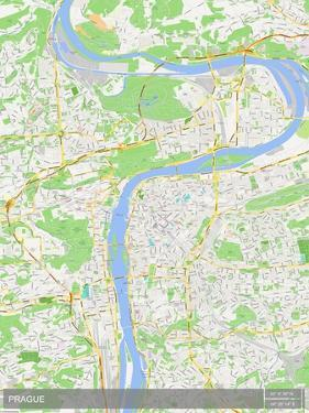 Prague, Czech Republic Map