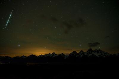 Stars Fill the Sky over Mountains by Prasenjeet Yadav