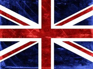 Grunge Union Jack Flag by prawny