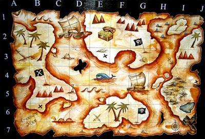 Treasure Map by prawny