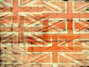 Union Jack Flag Abstract by prawny