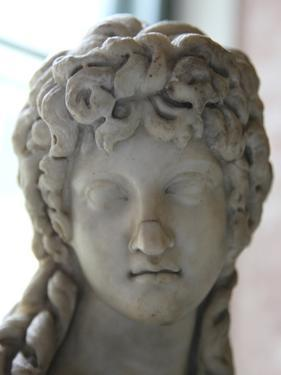 Head of a Half Figure of Eros, 2nd Century by Praxiteles Praxiteles
