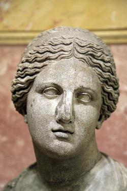 Head of Aphrodite, Goddess of Beauty and Love, 2nd Century by Praxiteles Praxiteles