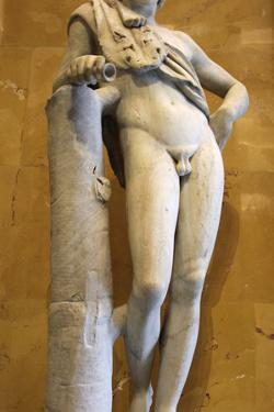 Statue of a Resting Satyr by Praxiteles Praxiteles